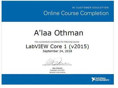 LabVIEW Certificates