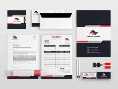 Logo, Business card, Letterhead and all stationery item