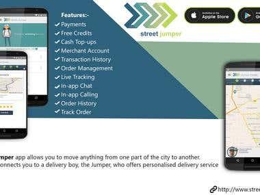 Street Jumper (delivery app)