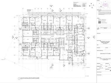 Autocad Drawings for client in Abu Dhabi, UAE.