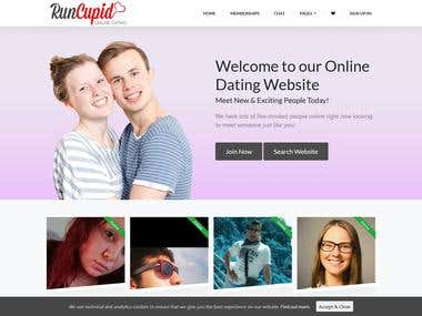 RunCupid - Dating website