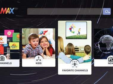 Application Screen Design