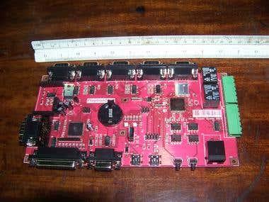 Multi serial controler