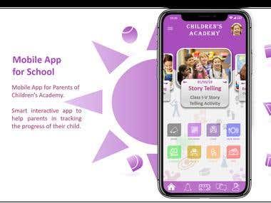 Mobile App for School