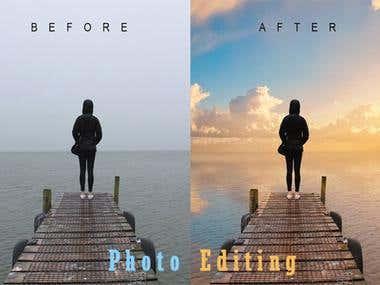 Photoshop Editing, Remove Background, Resize, Create A Logo