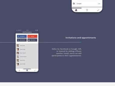 App design for Danish startup, Appoindo