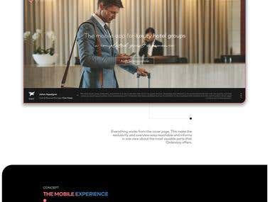 Web redesign upgrade for Danish hospitality tech startup