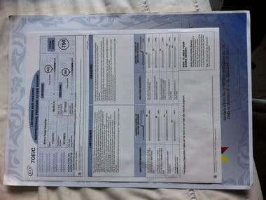 TOEIC (English Test EAFIT Colombia)