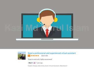 Need a professional and experienced virtual assistant