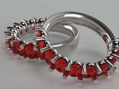 3D Jewelry Visualization - Ring