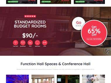 Hall Reservation System(Laravel)