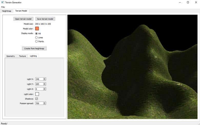 Terrain Generator in C++/OpenGL/Qt | Freelancer