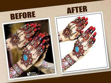 Image clipping path masking and background remove