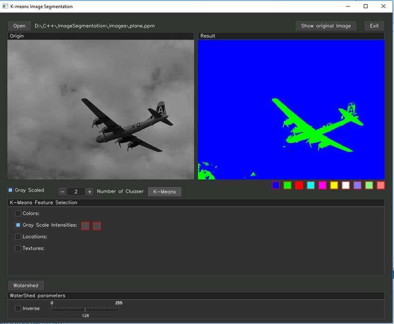 Image Segmentation(K-Means, WaterShed, OpenCV C++) | Freelancer