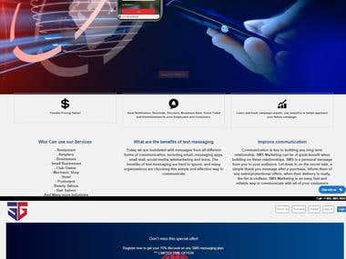 Website development in Custom PHP