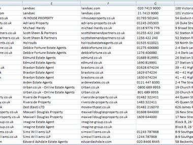 Estate Agents UK
