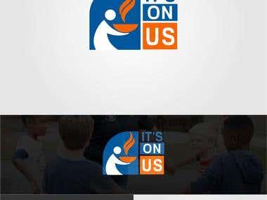 "Logo Design for ""Its on Us"""
