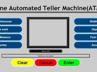 Online ATM Prototype