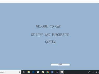 Car selling and purchasing system