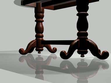 3d animation view of furniture