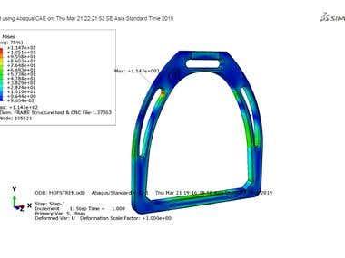 Simulation Loading Stirrup
