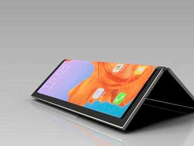 Redesign Huawei Mate X foldable Phone