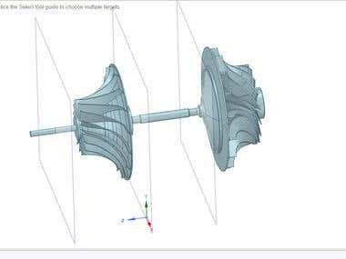 Gas turbine CAD