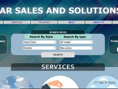 Online car sales and solutions