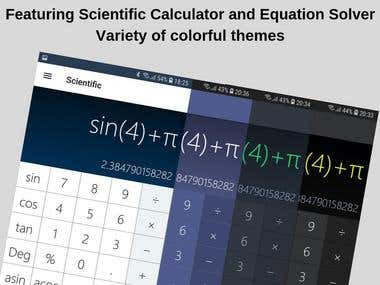 Cover art Math Calculator with Equation Solver
