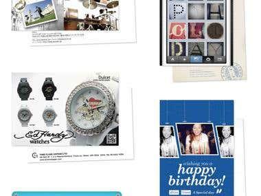 Postcard Designs and Printing