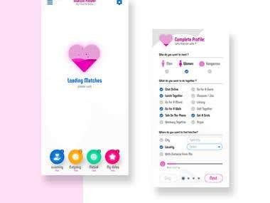 Mobile (UI design) Develop