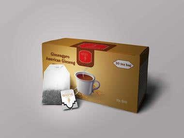 Tea Box And Bag Design
