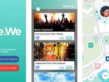 We.We Mobile App