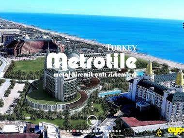 Metrotile.com.tr Website Design