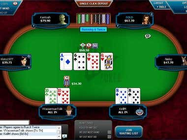 Casino Poker Utility & Table Helper