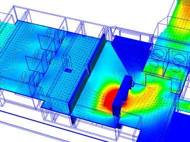 Heat, Air and Moisture CFD Services