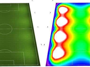 Lighting Design of Sport Pitch
