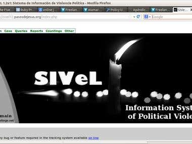 Information System SIVeL