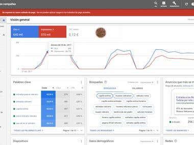 Google AdWords - Gestión de campañas