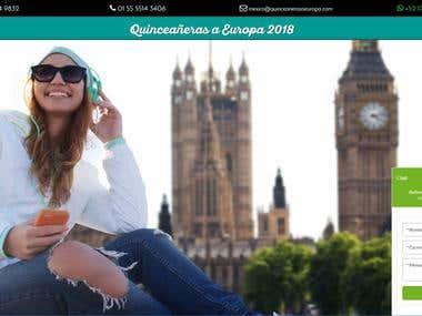 Slim Framework - QuinceanerasAEuropa.com
