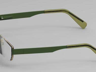 3D modeling and Rendering of glasses