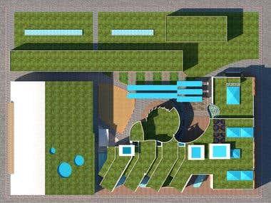 ground plane of community Center