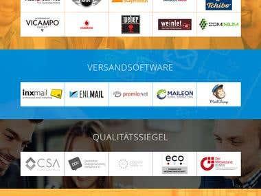 PSD + HTML