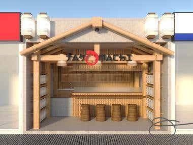 INTERIOR - Japanese Style Shop