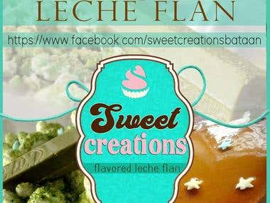 Sweetcreations Logo and Layout for Banner/Tarpaulin