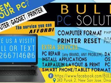 Buldz PC Tarp Layout