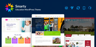 Responsive Kindergarten, School WordPress