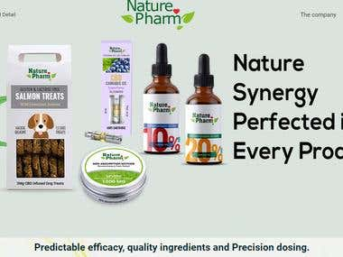 http://www.nature-pharm.com/ ecommerce