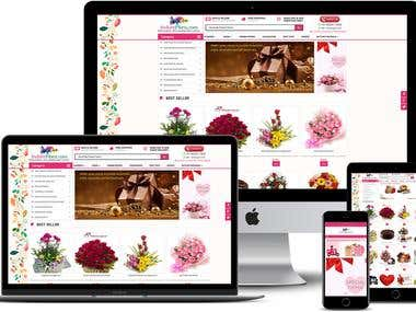 Online shopping website ( Florist portal)