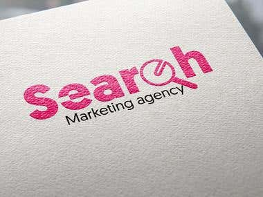 Search marketing agency logo competition